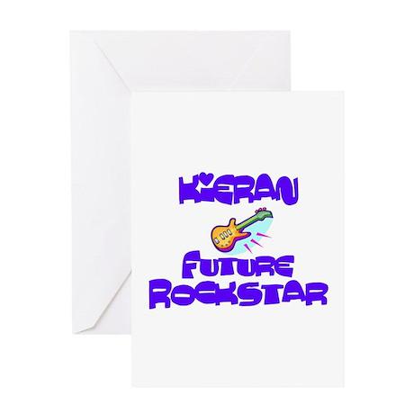 Kieran - Future Rock Star Greeting Card