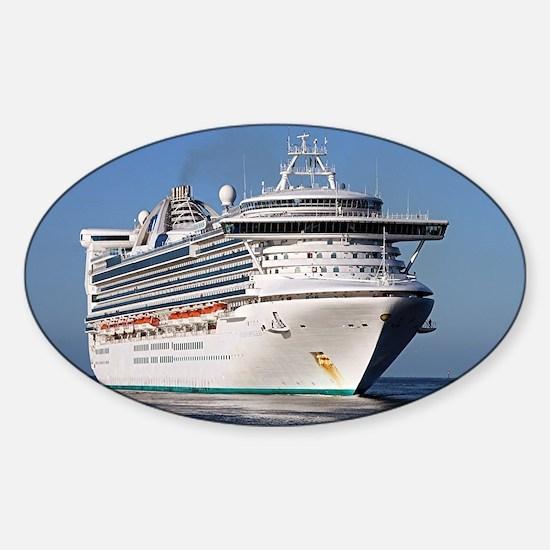 Golden Princess cruise ship Decal