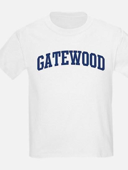 GATEWOOD design (blue) T-Shirt