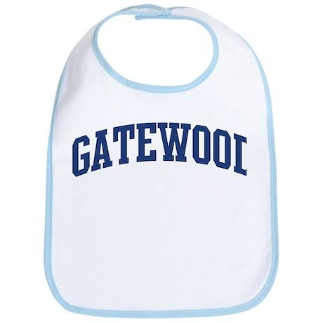 GATEWOOD design (blue) Bib