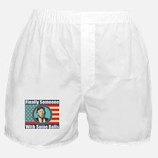 Donald Trump - Finally Someone with s Boxer Shorts