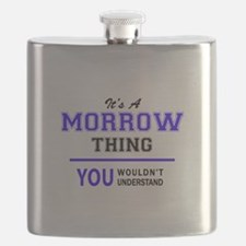 It's MORROW thing, you wouldn't understand Flask