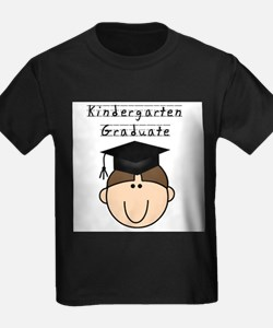 Boy Kindergarten Grad (brown) T-Shirt