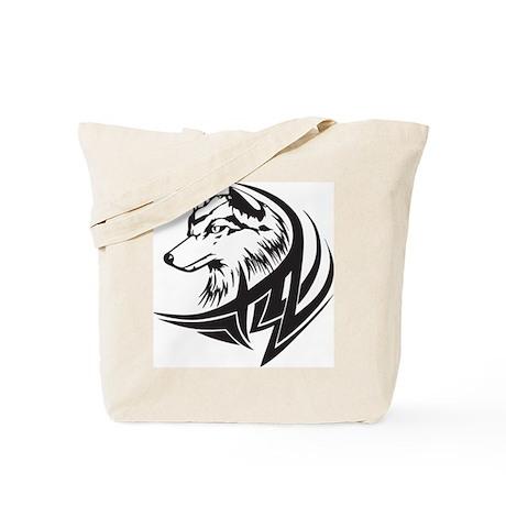 Dog Tattoo Tote Bag
