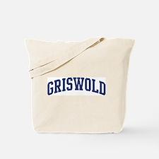 GRISWOLD design (blue) Tote Bag