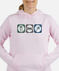 Cute Eat Women's Hooded Sweatshirt