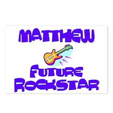 Matthew - Future Rock Star Postcards (Package of 8
