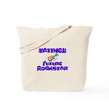 Matthew - Future Rock Star Tote Bag