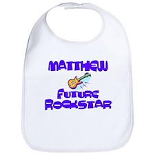 Matthew - Future Rock Star Bib