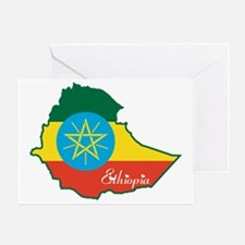 Cool Ethiopia Greeting Card