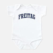 FREITAG design (blue) Infant Bodysuit