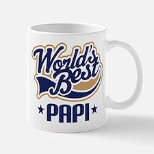 Worlds Best Papi Gift Idea Mugs