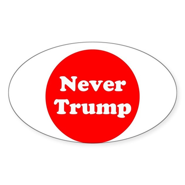 Never trump anti trump decal by mcelection2020