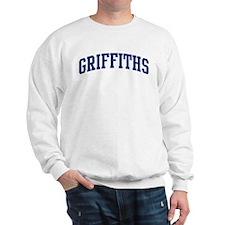 GRIFFITHS design (blue) Sweatshirt