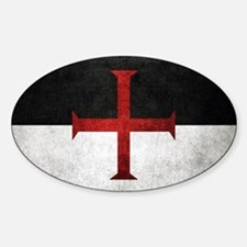 Flag of the Knights Templar Decal