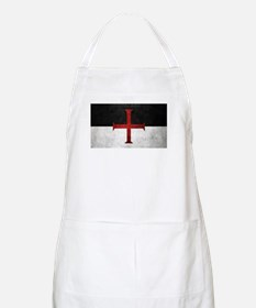 Flag of the Knights Templar Apron