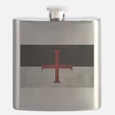 Flag of the Knights Templar Flask