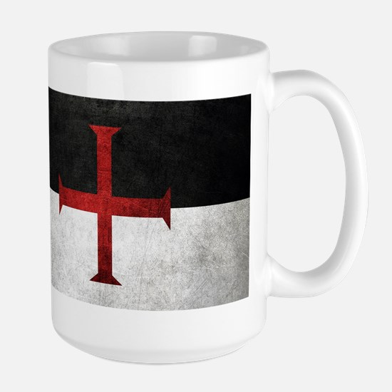 Flag of the Knights Templar Mugs