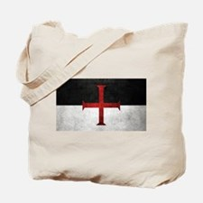 Flag of the Knights Templar Tote Bag
