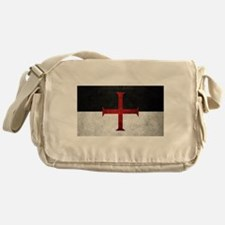 Flag of the Knights Templar Messenger Bag