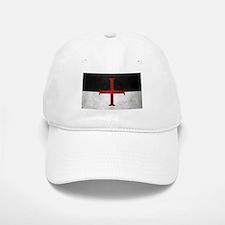 Flag of the Knights Templar Baseball Baseball Baseball Cap