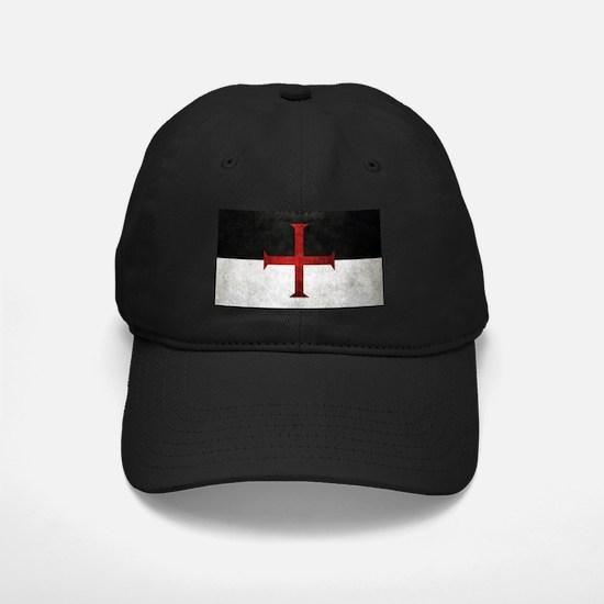 Flag of the Knights Templar Baseball Hat