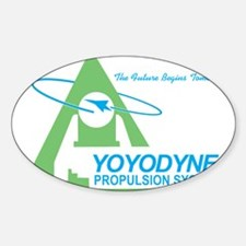 Yoyodyne Rectangle Decal