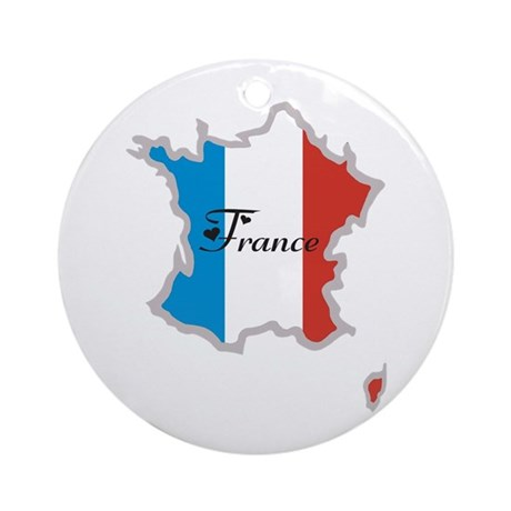 Cool France Ornament (Round)