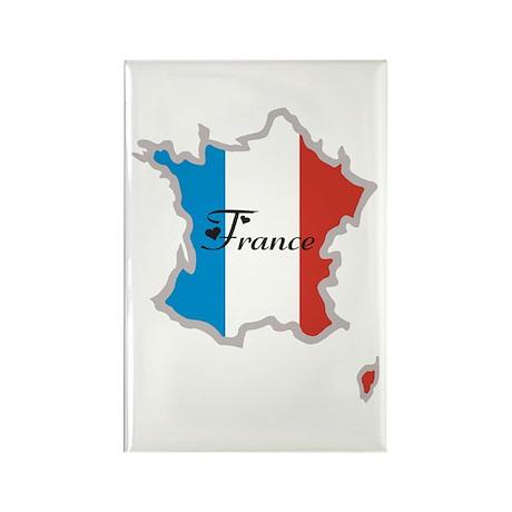 Cool France Rectangle Magnet (100 pack)