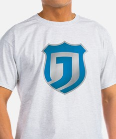 Justice Network Large Shield Shirts T-Shirt