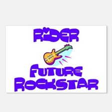 Rider - Future Rock Star Postcards (Package of 8)