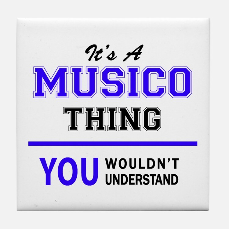 It's MUSICO thing, you wouldn't under Tile Coaster
