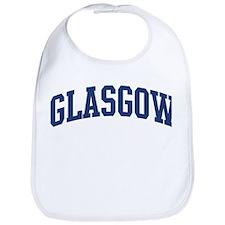 GLASGOW design (blue) Bib