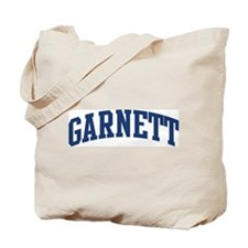 GARNETT design (blue) Tote Bag