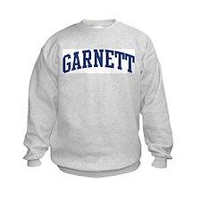 GARNETT design (blue) Sweatshirt