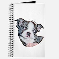 Boston Terrier Puppy Journal