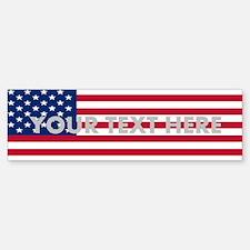 Customized Flag (bumper 10 Pk) Bumper Bumper Bumper Sticker