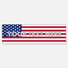 Create Your Own Flag (bumper) Bumper Bumper Bumper Sticker