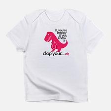 Unique Fun dinosaur Infant T-Shirt
