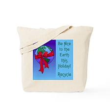 Earth Holiday Shopping Bag