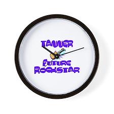 Tanner - Future Rock Star Wall Clock