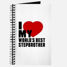 I love My World's Best Stepbrother Journal