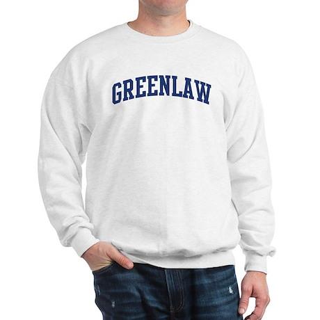 GREENLAW design (blue) Sweatshirt