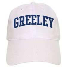 GREELEY design (blue) Baseball Cap