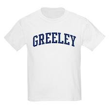 GREELEY design (blue) T-Shirt