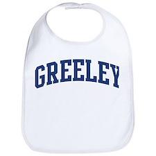 GREELEY design (blue) Bib