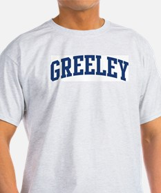 GREELEY design (blue) T-Shirt