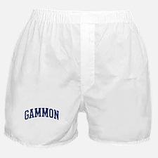 GAMMON design (blue) Boxer Shorts