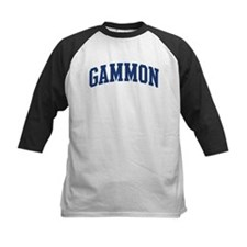 GAMMON design (blue) Tee