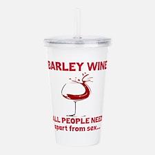 Barley Wine All People Acrylic Double-wall Tumbler